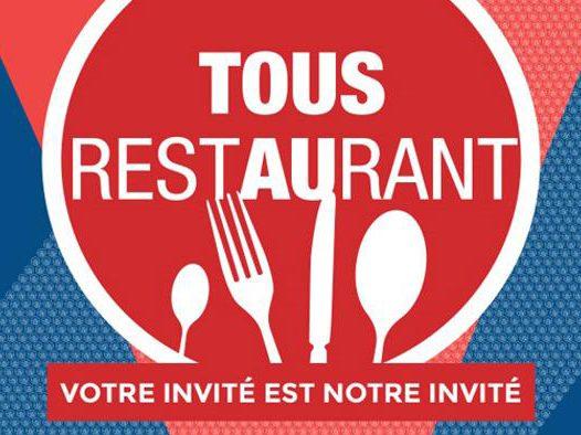 tous au restaurant - event