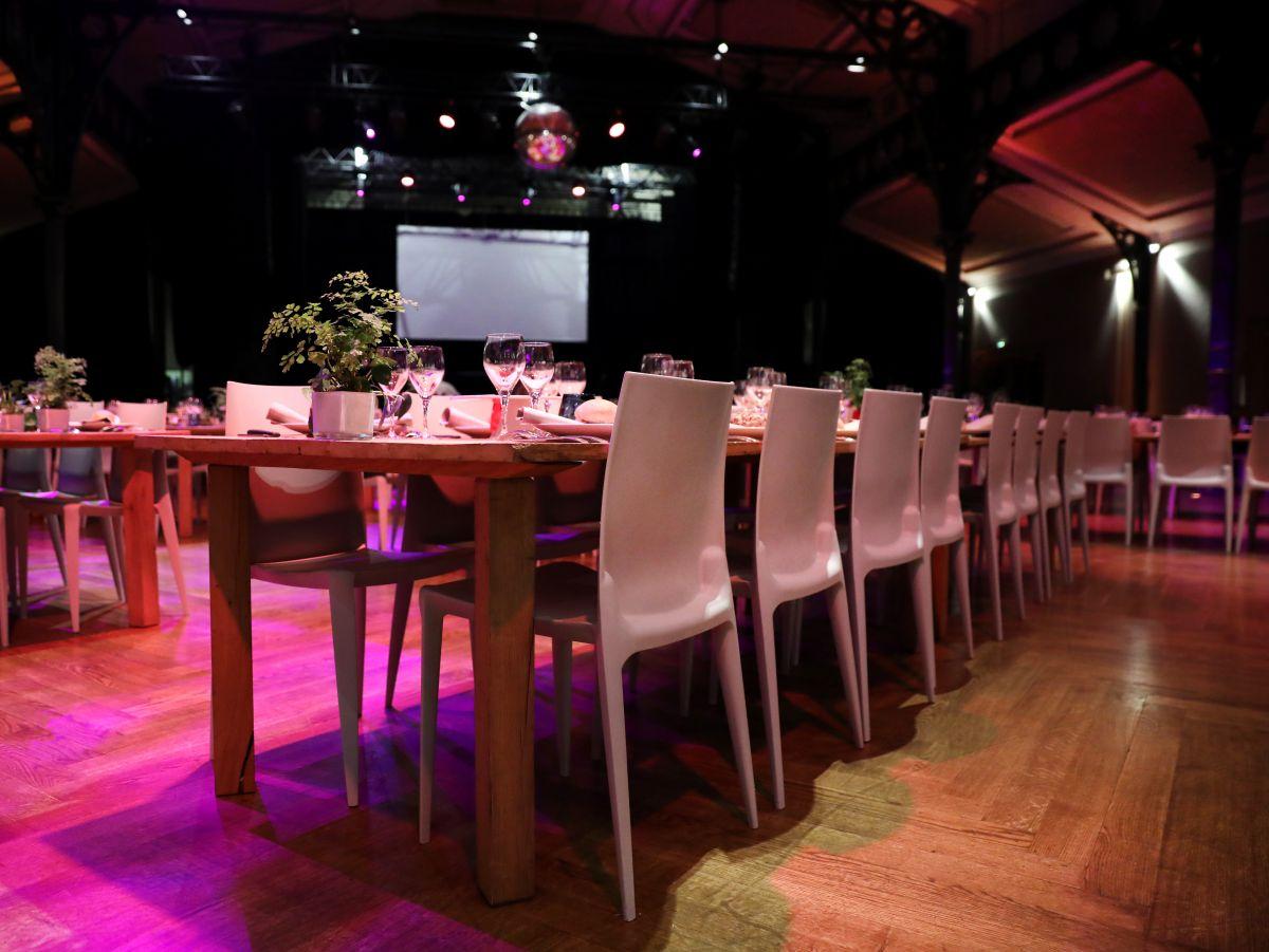 Services événementiels -mobilier et arts de la table