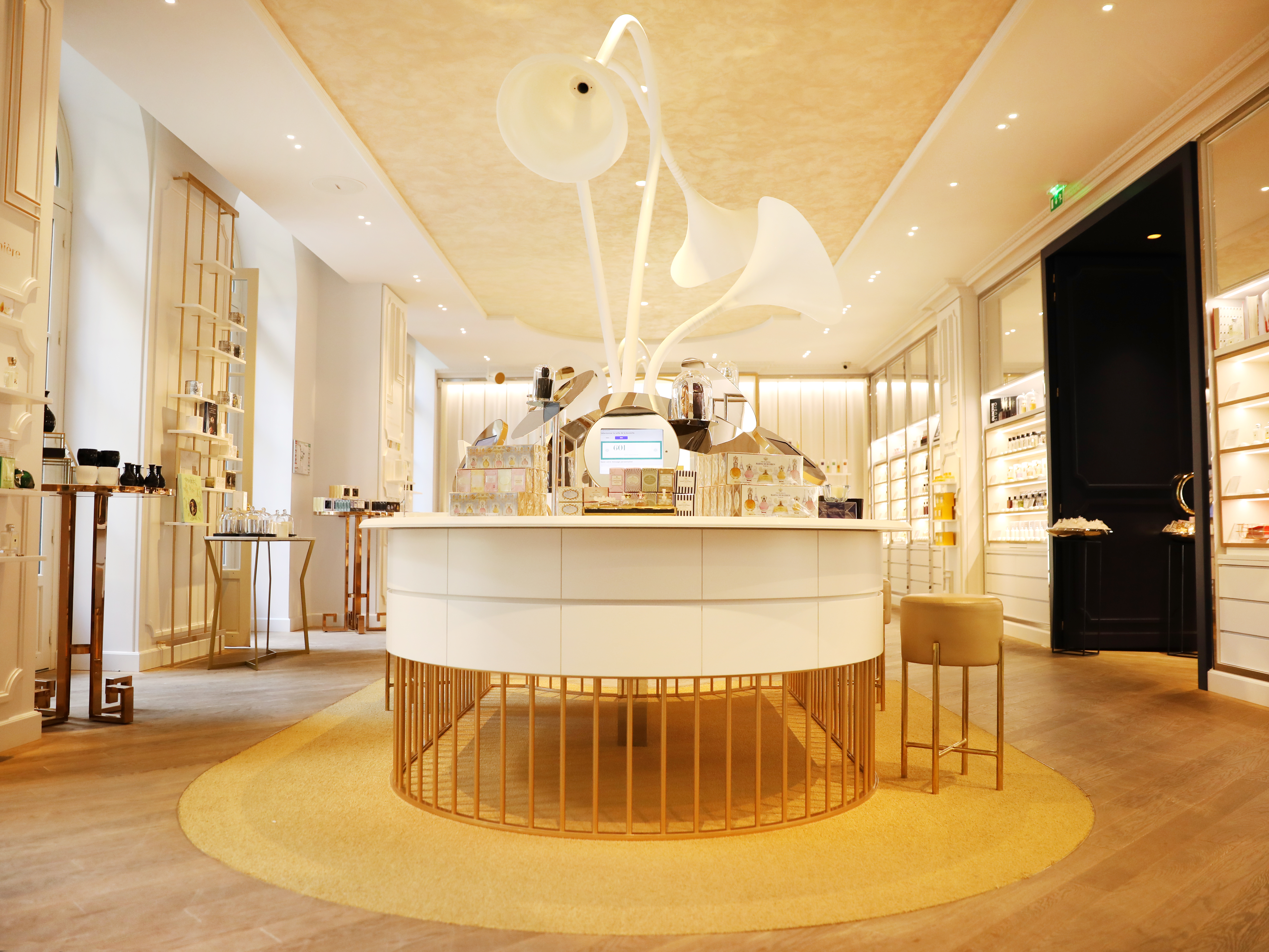 Grand musée du parfum - réception au musée