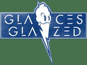 logo glace glazed