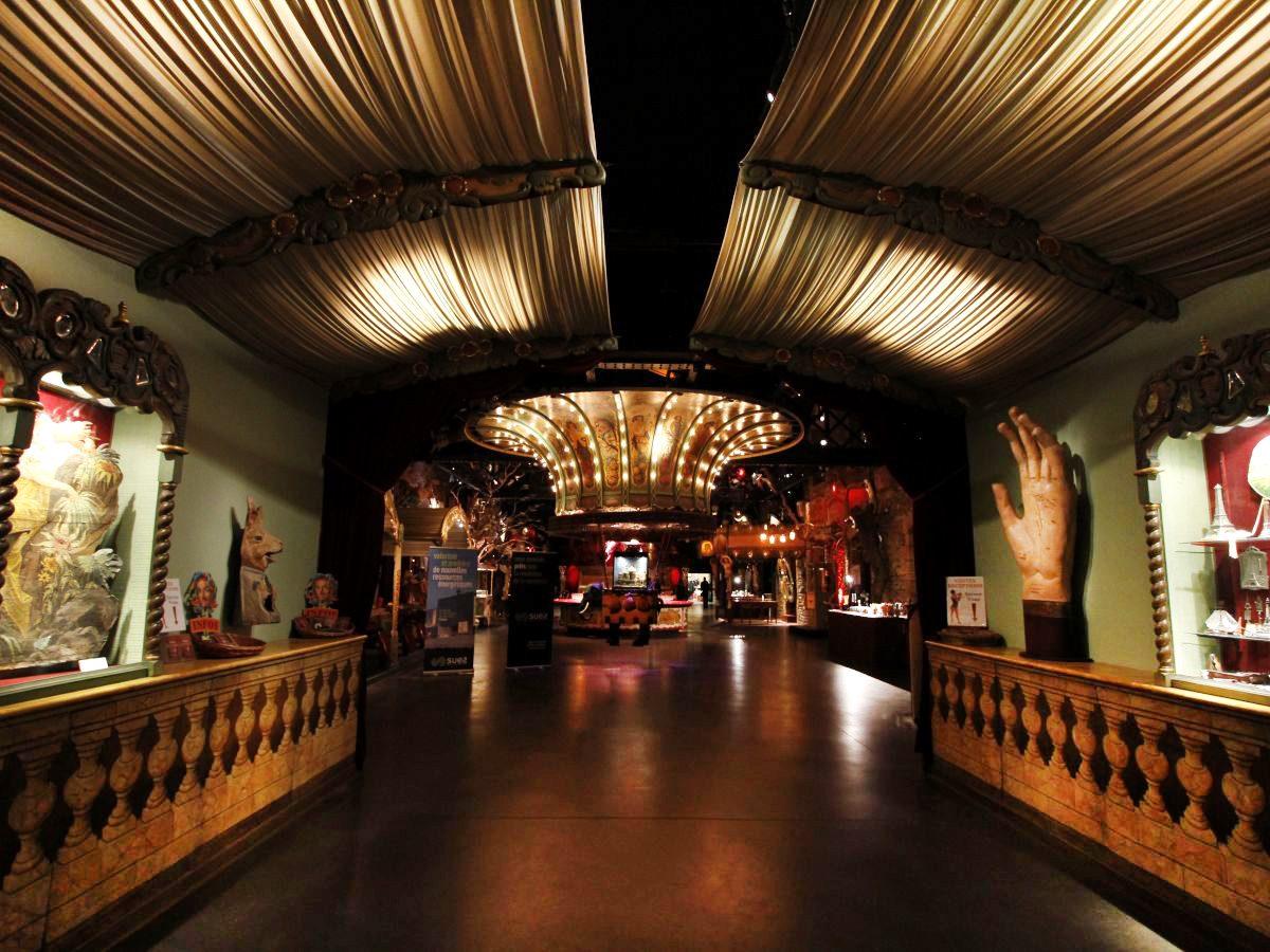 suez - musée des arts forains - lieu atypique - musée