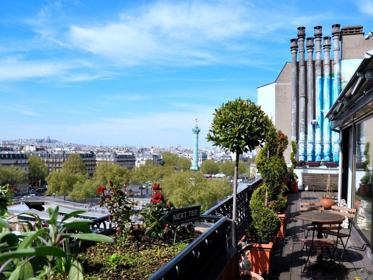 Rooftop Vue Bastille