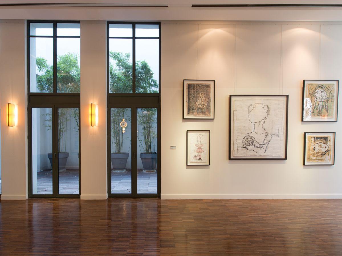 trouver un lieu - galerie d'art