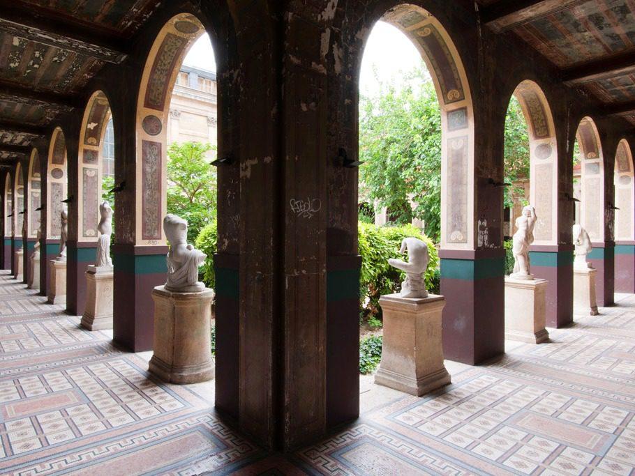 Cour murier des Beaux Arts de Paris