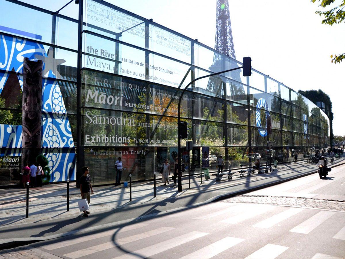 Musée du quai Branly Facade