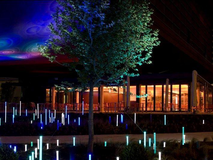 Musée du quai Branly Jardin nuit