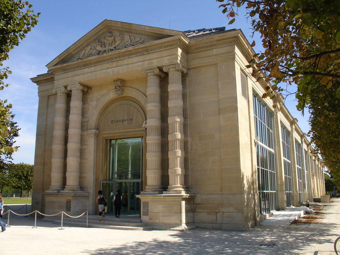Musée de L'Orangerie extérieur jour