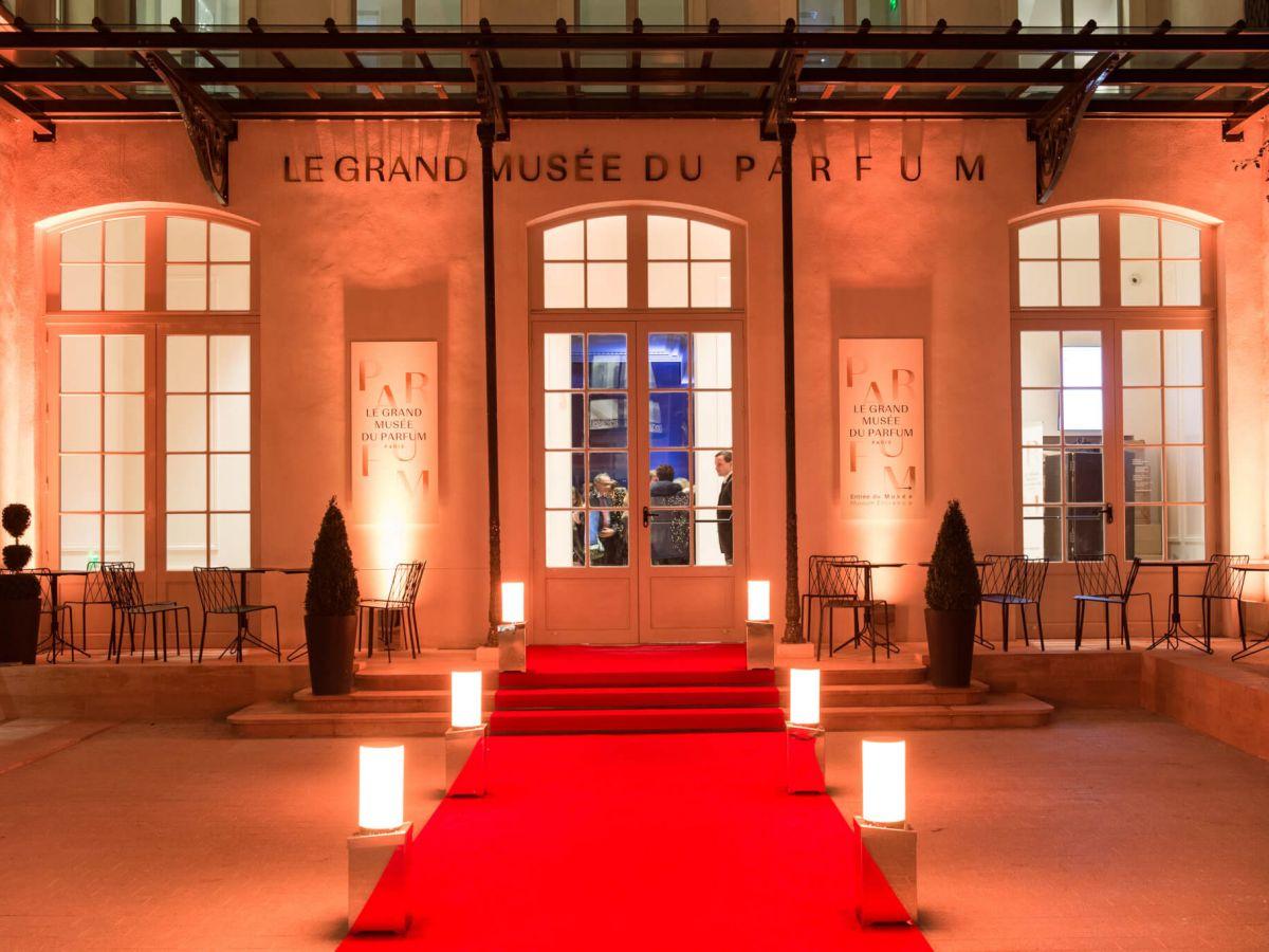 Musée du Parfum Réception