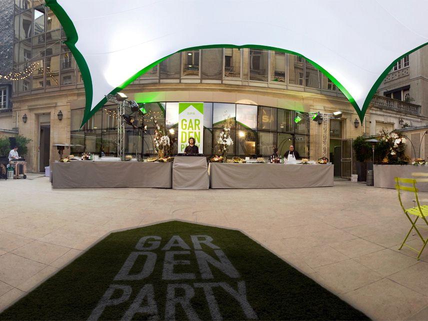 Universal Music Garden party