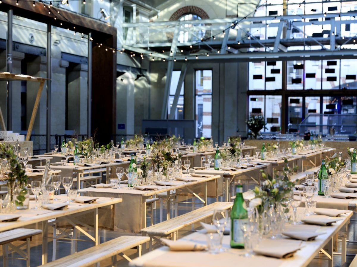 Tables événement Chanel