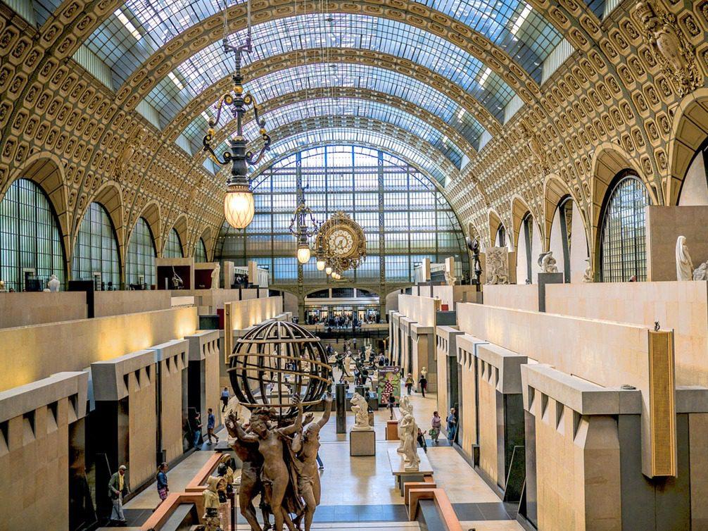 location Musée d'Orsay intérieur