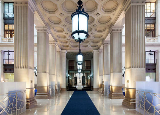 lieux prestigieux - banque