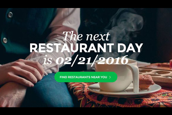 restaurant day - event