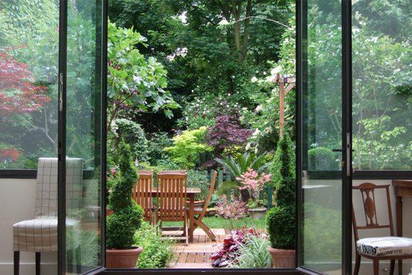 trouver le lieu idéal - jardin - cours - appartement privé