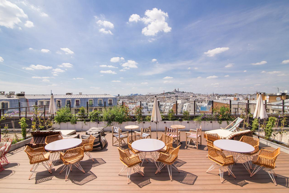 rooftop - organisation de cocktails - nos lieux