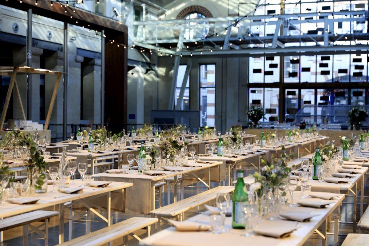 organisation de réception - dîner assis - séminaire d'entreprise - réception de prestige