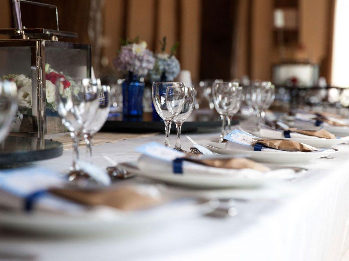 Organisation de réceptions pour particuliers - mariages