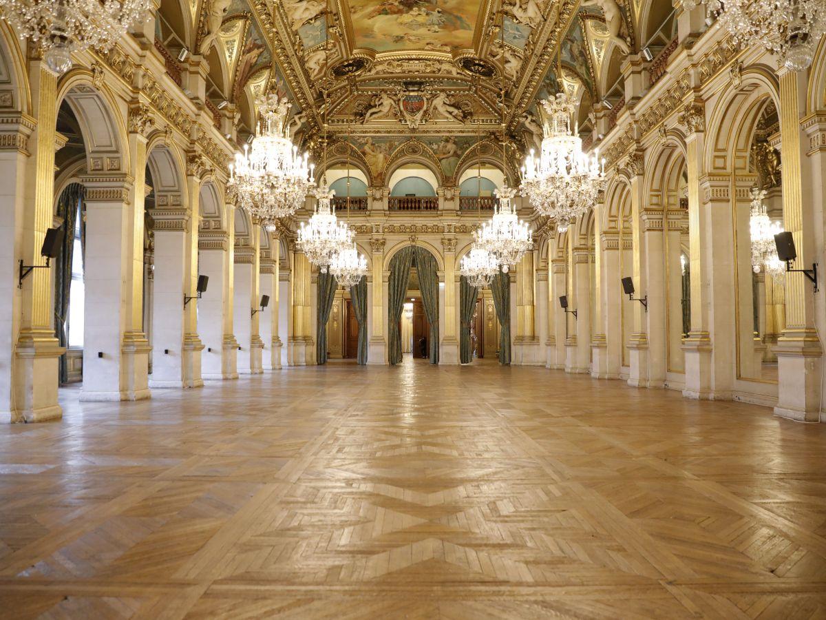 lieux prestigieux - hôtel de ville de paris
