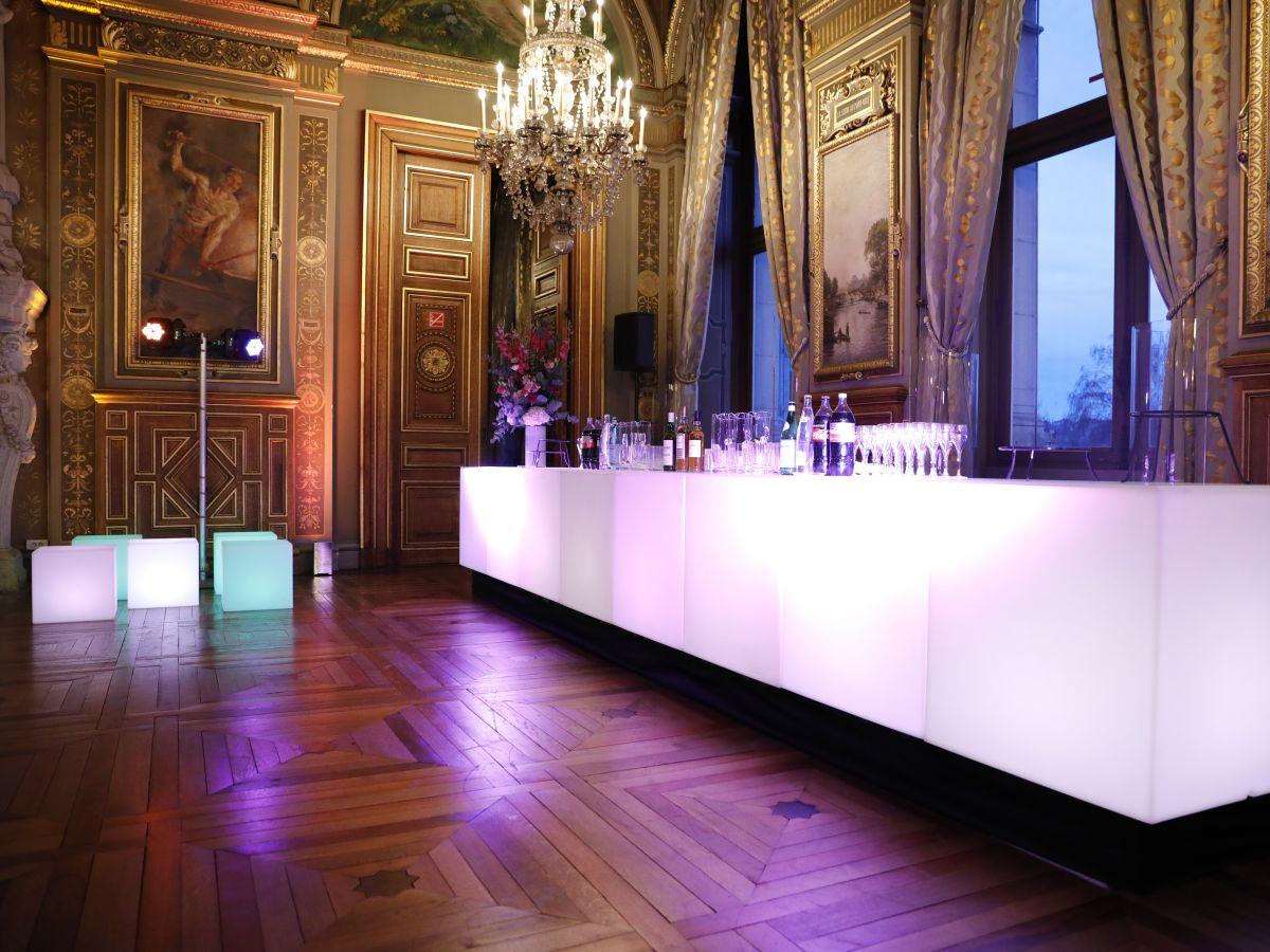 bnp - reception de prestige - organisation de cocktails - organisation de réceptions prestigieuses